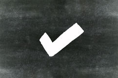 Checkmark symbol Royalty Free Stock Images