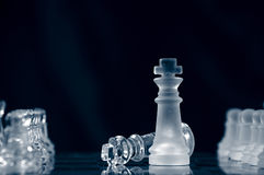 Checkmate � surrender. Royalty Free Stock Photography