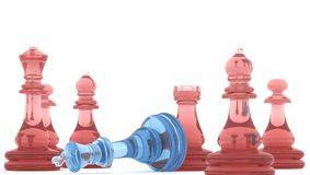 Checkmate! Foto de Stock Royalty Free