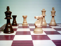 Checkmate. The game is won  the game is lost Stock Images