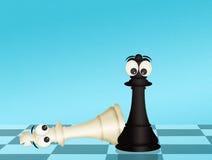 checkmate stock illustratie