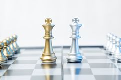 Checkmate business or political concept Royalty Free Stock Image