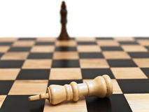 Checkmate in chess Stock Photo