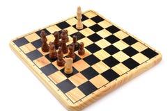 Checkmate feito por um cavalo Imagem de Stock Royalty Free