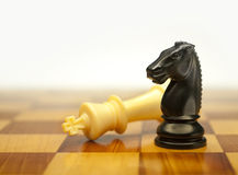 Checkmate, game over Royalty Free Stock Images