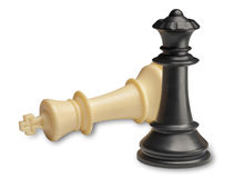 Checkmate, game over Royalty Free Stock Image