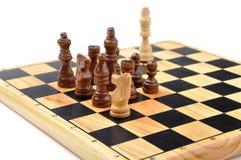 Checkmate ha fatto da un cavallo Immagine Stock