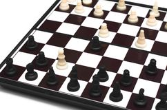 Checkmate. Checkmate isolated. Child checkmate concept royalty free stock photo