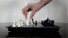 Checkmate of the shepherd stock video footage