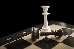 checkmate típico do jogo de xadrez ilustração stock