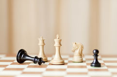 Checkmate, winning concept Royalty Free Stock Image