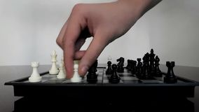 Checkmates in few movements Stock Image