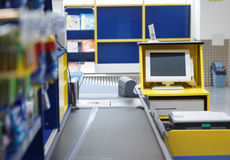 Checkout terminal Stock Image