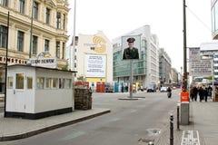 Checkpoint Charlie fotografia stock