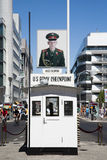 Checkpoint Charlie Immagini Stock