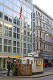 Checkpoint charlie berlin Stock Photos