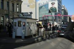Checkpoint Charlie, Berlin obraz royalty free