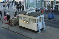 Checkpoint Charlie, Berlin obraz stock