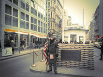 Checkpoint charlie Stock Photos