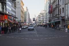 Checkpoint Charlie Royalty Free Stock Photography