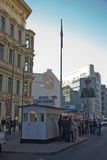 Checkpoint Charlie Stock Image
