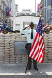 Checkpoint Charlie Berlin Royalty Free Stock Images