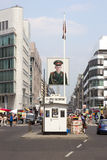 Checkpoint Charlie Berlin Stock Photography