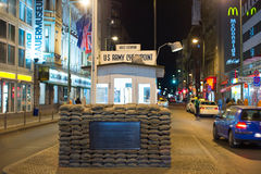 Checkpoint Charlie, Berlin Stock Photos