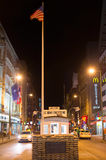 Checkpoint  Charlie, Berlin Stock Image