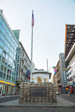 Checkpoint Charlie in Berlin, Germany Stock Photo