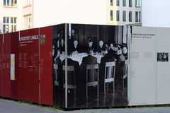 Checkpoint Charlie Memorial Royalty Free Stock Photo