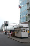 Checkpoint Point Charlie Stock Photo