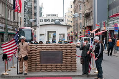 Checkpoint Point Charlie Stock Photography