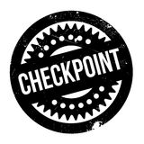 Checkpoint rubber stamp Royalty Free Stock Photos