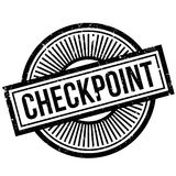 Checkpoint rubber stamp Royalty Free Stock Photo