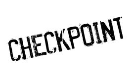 Checkpoint rubber stamp Royalty Free Stock Images