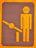 Checkpoint sign Stock Image