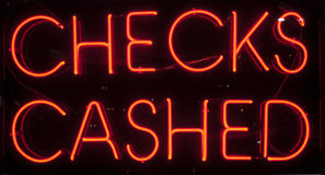 Free Checks Cashed Stock Photography - 29632152