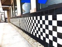 Checks. Diner checkered pattern Stock Image