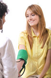 Checkup,arterial pressure Royalty Free Stock Photos