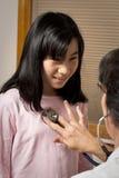 checkup daje pielęgniarki Obraz Stock