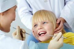 checkup stomatologiczny obraz stock