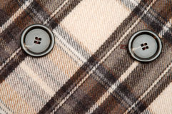 Checkwork coat detail Royalty Free Stock Image