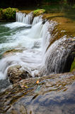 Ched圣地Noi瀑布,泰国 免版税库存照片