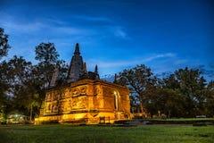 Ched Yod寺庙的塔 免版税库存图片