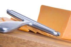 chedar τυρί Στοκ Εικόνα