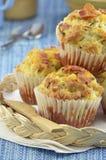 cheddar bekonowi muffins Fotografia Royalty Free