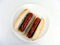 Cheddar Bratwurst #1 Royalty Free Stock Photography