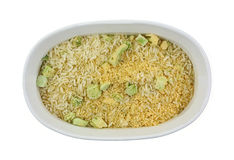 Cheddar Broccoli Rice Pasta Mix Stock Photo