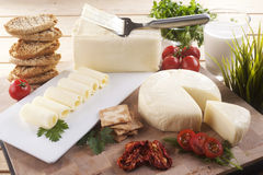 Cheddar cheese Stock Images